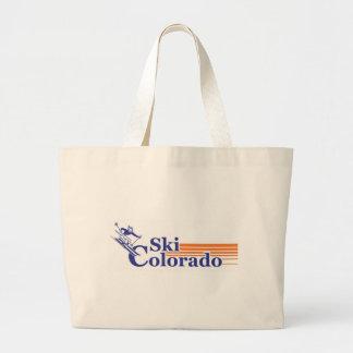 Ski Colorado (male) Canvas Bags