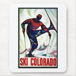 Ski Colorado Mouse Pad
