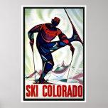 Ski Colorado Posters