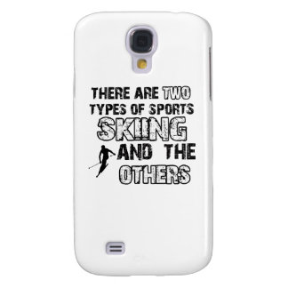 ski designs for lovers of the sport galaxy s4 covers