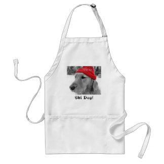 Ski Dog! Apron