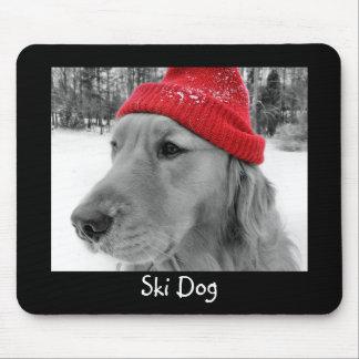 Ski Dog Mousepad