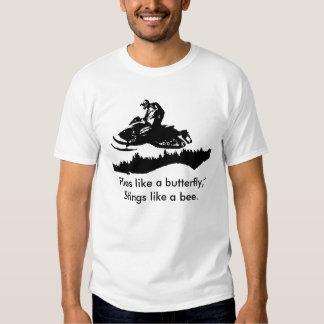ski-doo-bkg.ai, Flies like a butterfly, Stings ... T-shirts