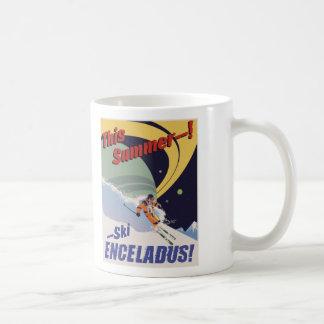 Ski Enceladus! Classic White Coffee Mug