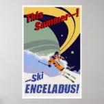 Ski Enceladus! Posters
