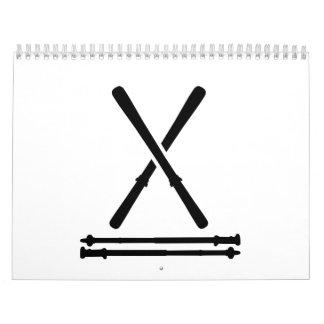 Ski equipment calendar