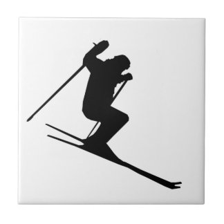 Ski Gear Ceramic Tile