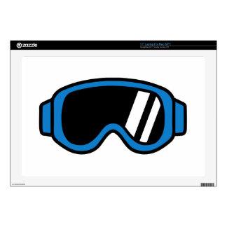 Ski goggles skins for laptops