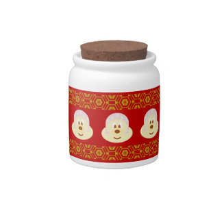 Ski Hat 鮑 鮑 Candy Jar