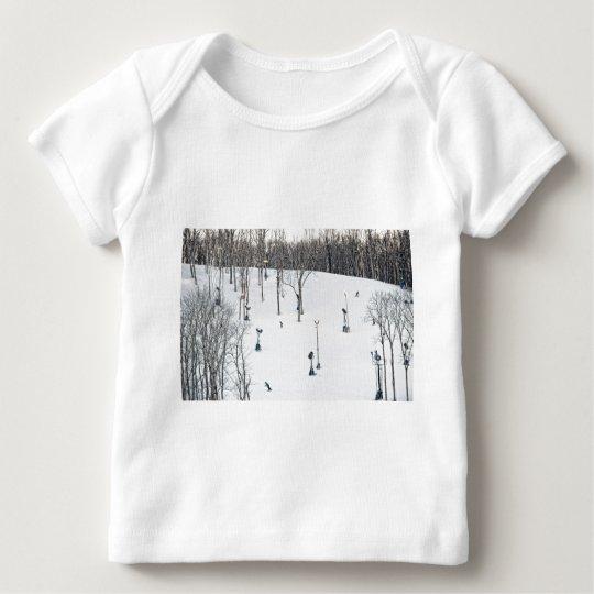 Ski Hill Baby T-Shirt
