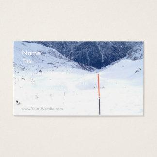 Ski In The Alp Business Card