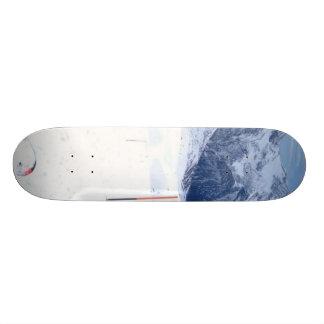 Ski In The Alp Skate Board Deck