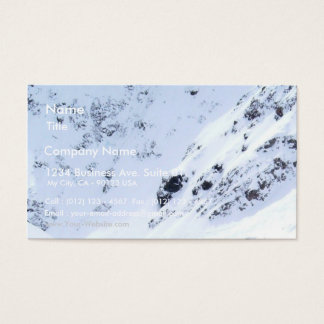 Ski In The Alps Business Card