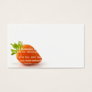 Ski In The Alps On Bright Day Business Card