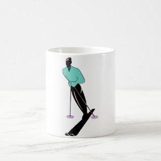 SKI INSTRUCTOR CLASSIC WHITE COFFEE MUG