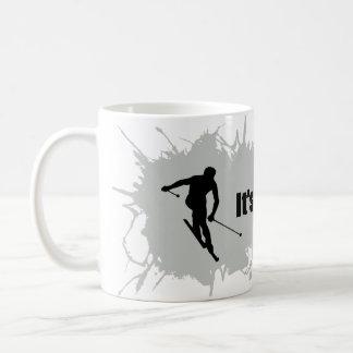 Ski is a Way of Life Coffee Mug