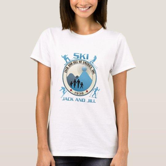 Ski Jack and Jill Blue T-Shirt