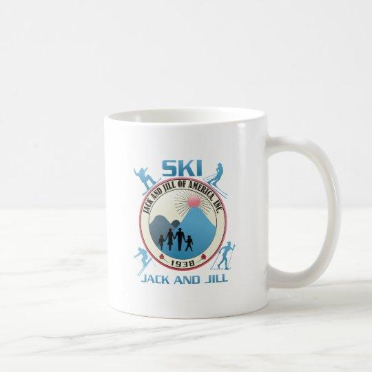 Ski Jack and Jill Pink Stuff Coffee Mug