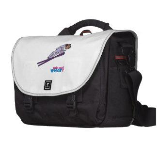 Ski Jump Girl - Dark Commuter Bag