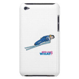 Ski Jump Girl - Light/Blonde iPod Case-Mate Case