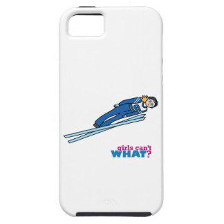 Ski Jump Girl - Light/Blonde Case For iPhone 5/5S