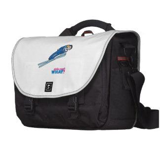 Ski Jump Girl - Light/Blonde Commuter Bag