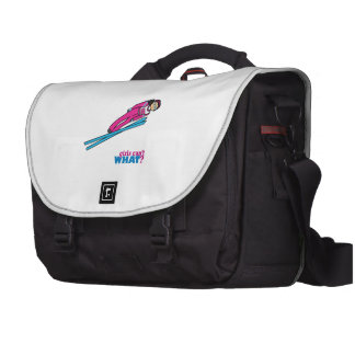 Ski Jump Girl - Medium Bags For Laptop