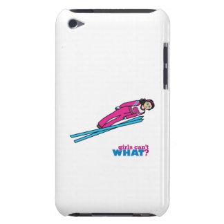 Ski Jump Girl - Medium iPod Touch Cover