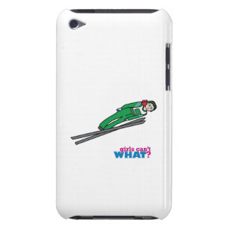 Ski Jump Light/Red iPod Touch Cases