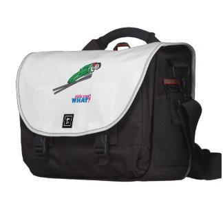 Ski Jump Light/Red Laptop Bag