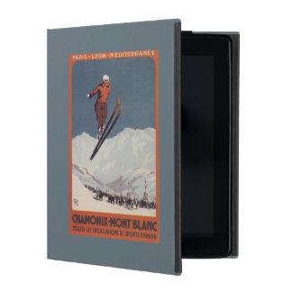 Ski Jump - PLM Olympic Promo Poster iPad Cover