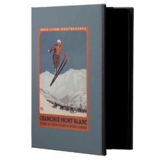 Ski Jump - PLM Olympic Promo Poster iPad Air Cover
