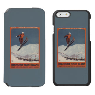 Ski Jump - PLM Olympic Promo Poster iPhone 6/6s Wallet Case