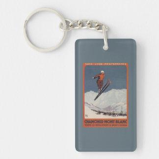Ski Jump - PLM Olympic Promo Poster Keychain