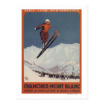 Ski Jump - PLM Olympic Promo Poster Post Card