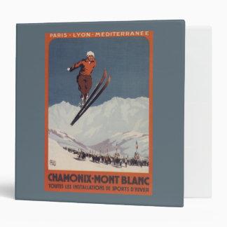 Ski Jump - PLM Olympic Promo Poster Vinyl Binders