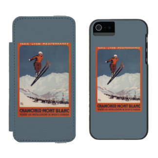 Ski Jump - PLM Olympic Promo Poster Incipio Watson™ iPhone 5 Wallet Case