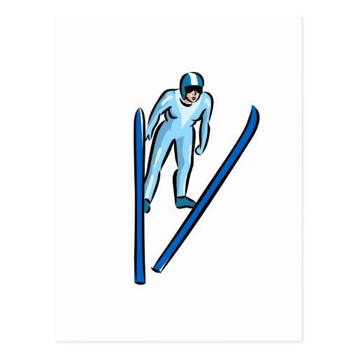 Ski Jump Post Cards