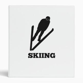 Ski Jumper Binder