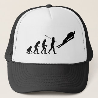 Ski Jumper Trucker Hat