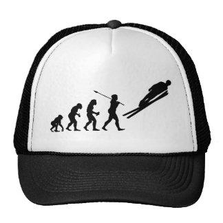 Ski Jumper Trucker Hat