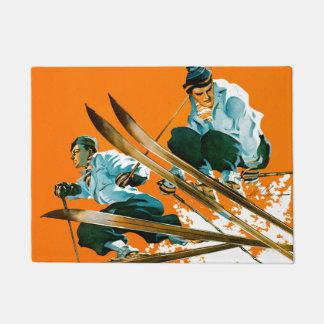 Ski Jumpers by Ski Weld Doormat