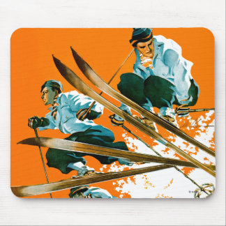 Ski Jumpers by Ski Weld Mouse Pad