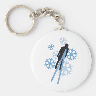 Ski jumping 3c keychain