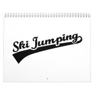 Ski jumping calendar