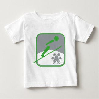 Ski_jumping_dd.png Baby T-Shirt