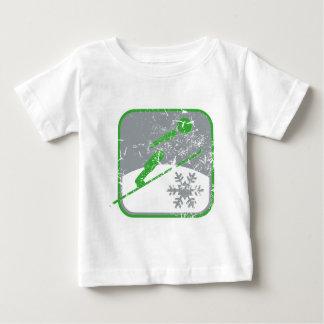 Ski_jumping_dd_used.png Baby T-Shirt