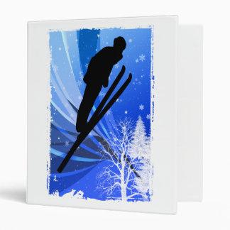 Ski Jumping in the Snow Binders