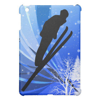 Ski Jumping in the Snow Case For The iPad Mini