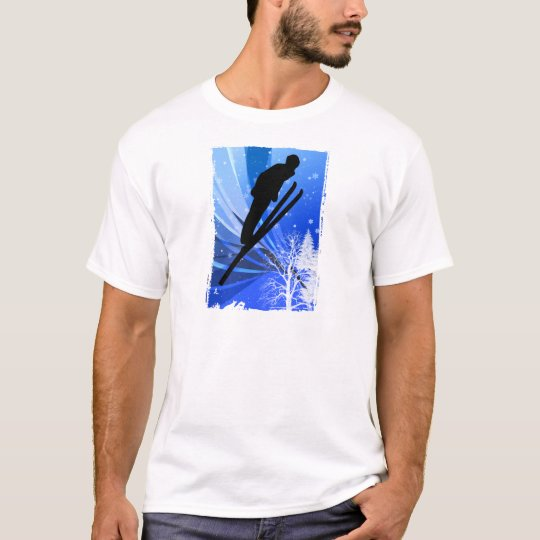 Ski Jumping in the Snow T-Shirt
